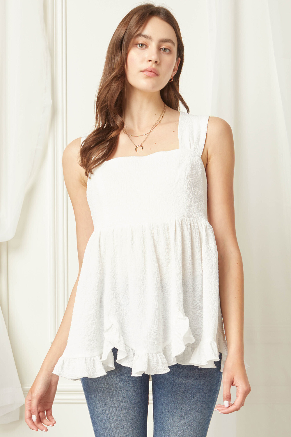 Go Wander Top- Off White
