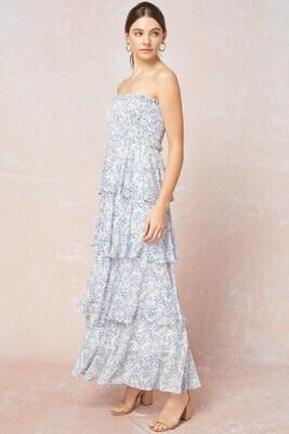 Be Unforgettable Dress- Blue