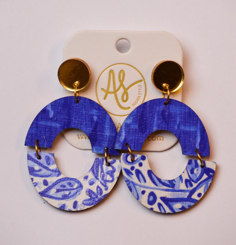 Audra Style Amanda Blue White
