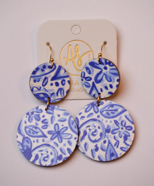 Audra Style Vivian New Blue White