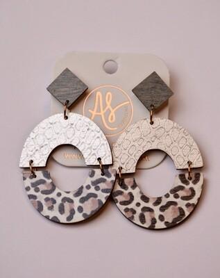 Audra Style Amanda Taupe Leopard