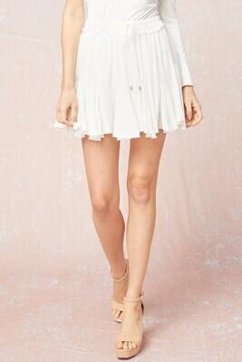 Modern Romance Skirt- Off White