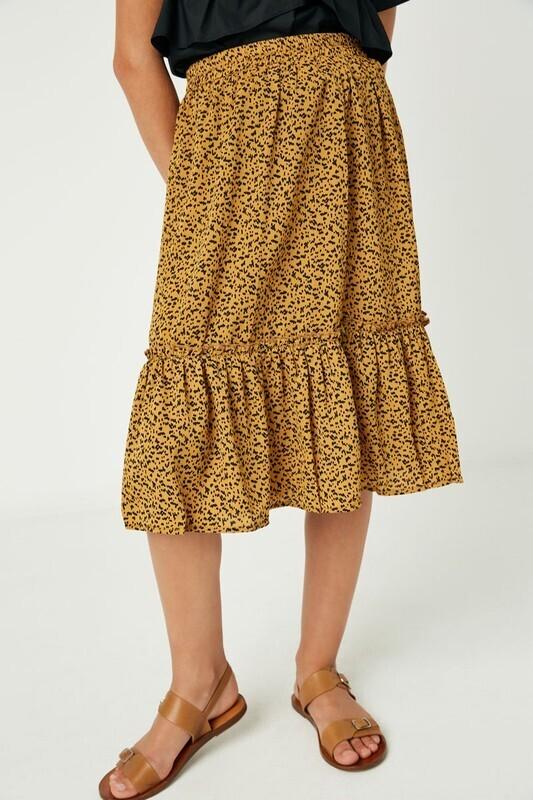Sadie Dot Skirt- Tween