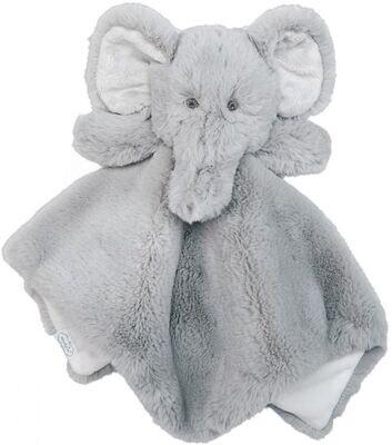 MudPie Elephant Plush Woobie
