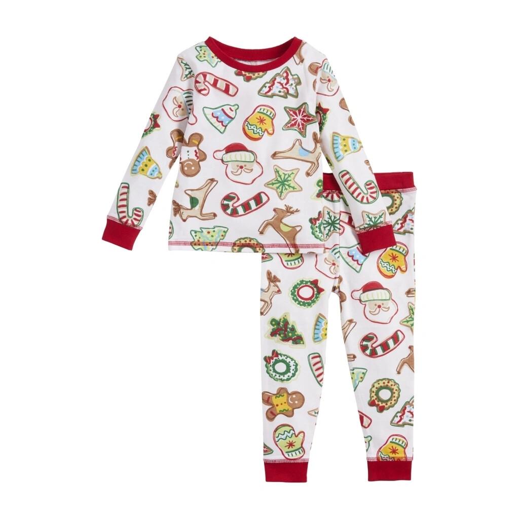 MudPie Christmas Cookie Pajama Set