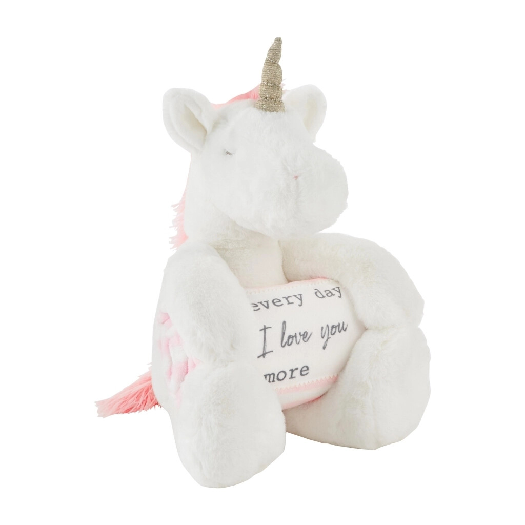 MudPie Unicorn Blanket Pal