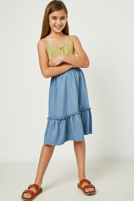 Lou Midi Skirt TWEEN