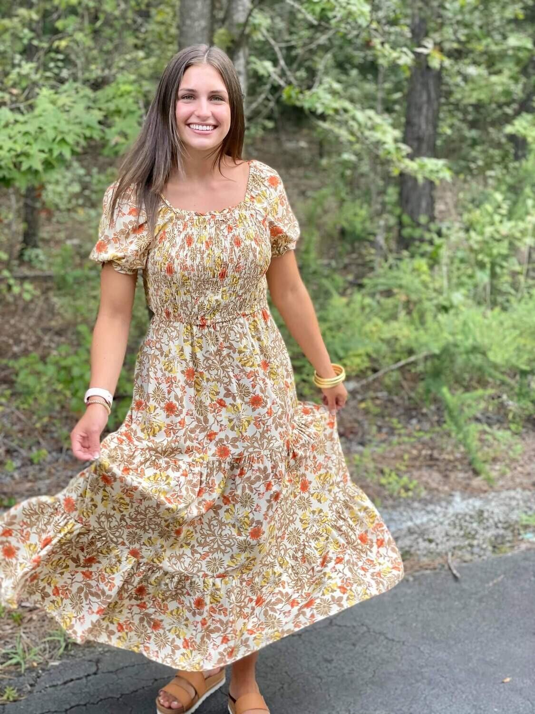 Rebecca Midi Dress