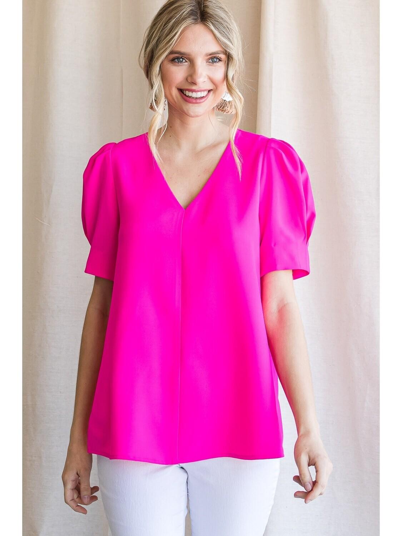 High Demand Top, Pink