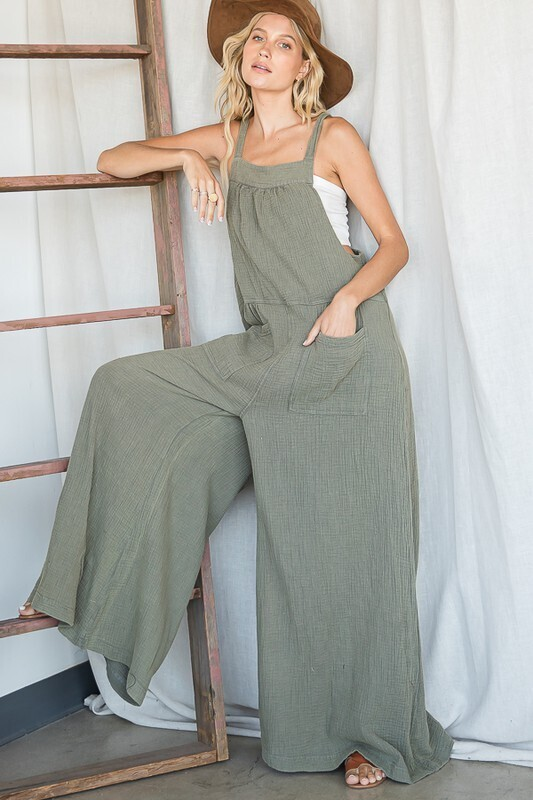 Step It Up Overalls
