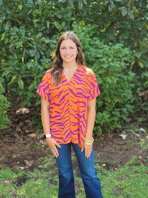 Adrienne Staying Alive Poncho Top