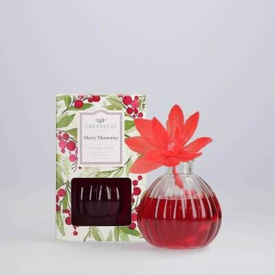 Greenleaf Flower Diffuser, Christmas Scents