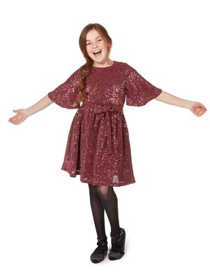 Gabby TInsley Belted Dress