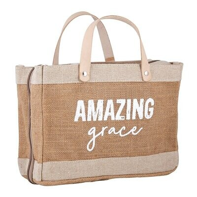 Bible Cover Tote - Amazing Grace