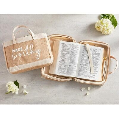 Bible Cover Tote - Made Worthy