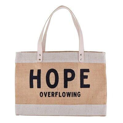 Market Tote - Hope Overflowing
