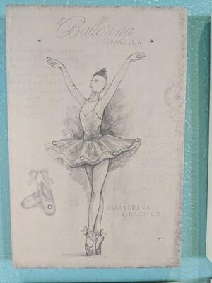 Ballet Plaque 4