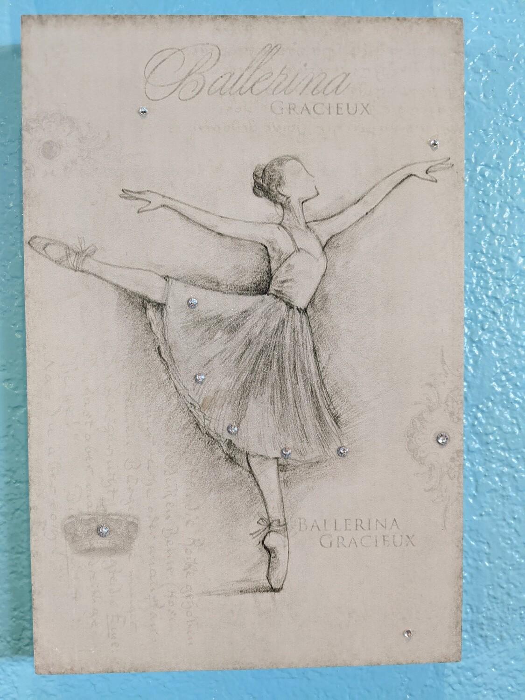 Ballet Plaque 2