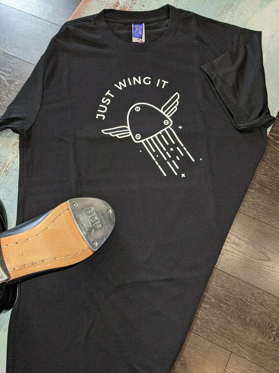 Covet Just Wing it tee