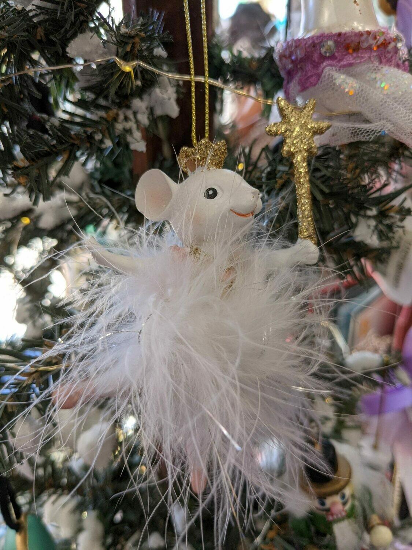 Ballerina Mouse orn
