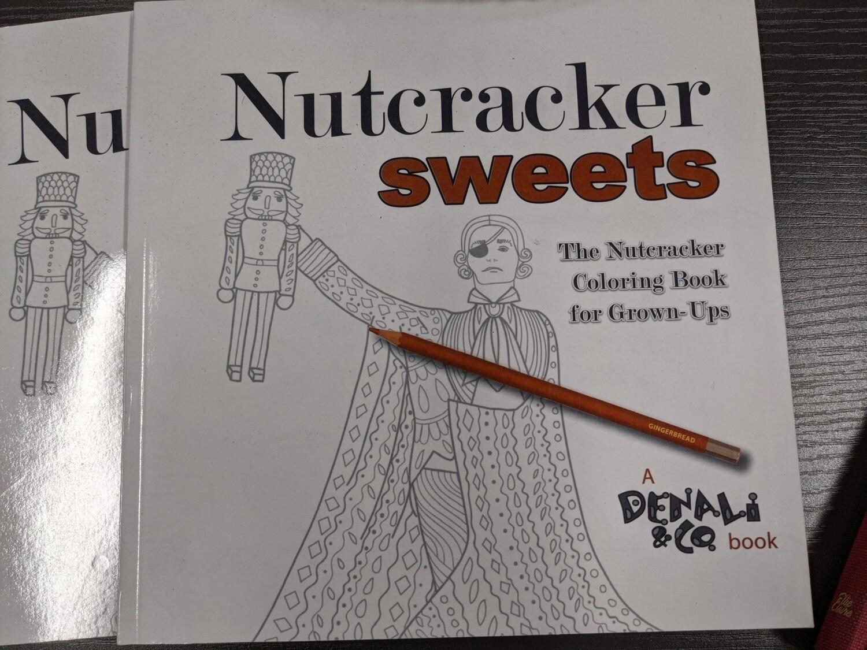 Coloring Book Nutcracker