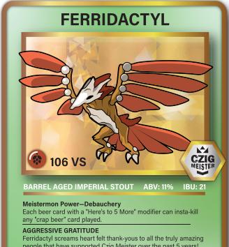 5th Anniversary- Ferridactyl