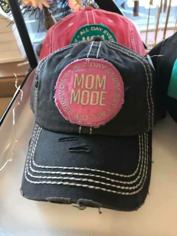 Mom Mode Trucker Hat - Black