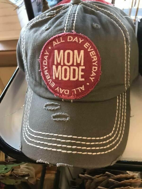 Mom Mode Trucker Hat - Gray