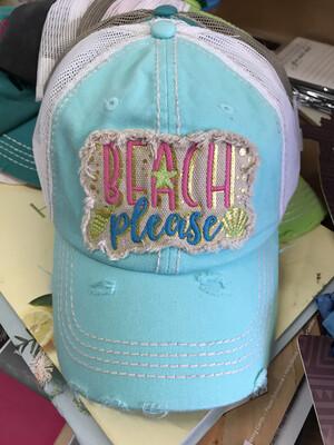 Beach Pls Hat