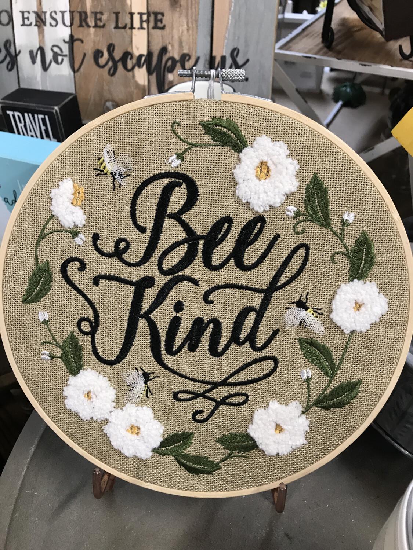 Bee Kind Kneedlepoint