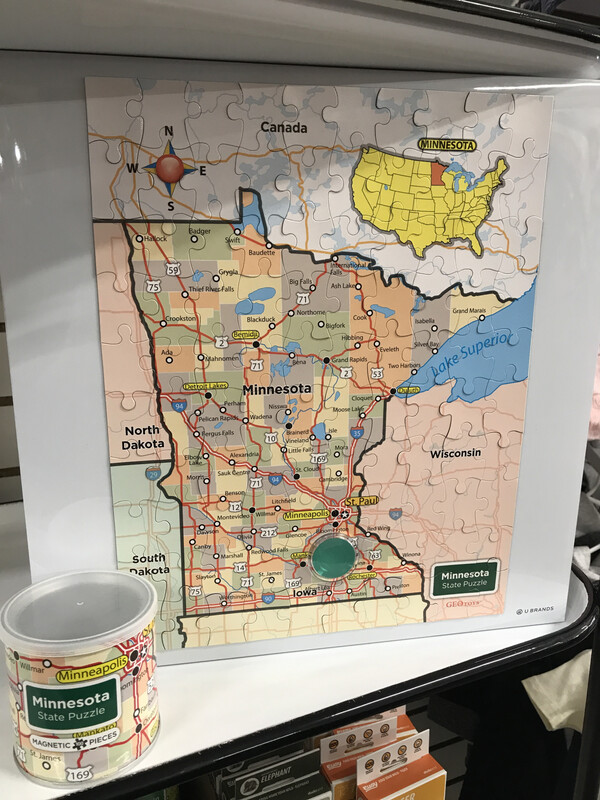 Magnetic Puzzle MN