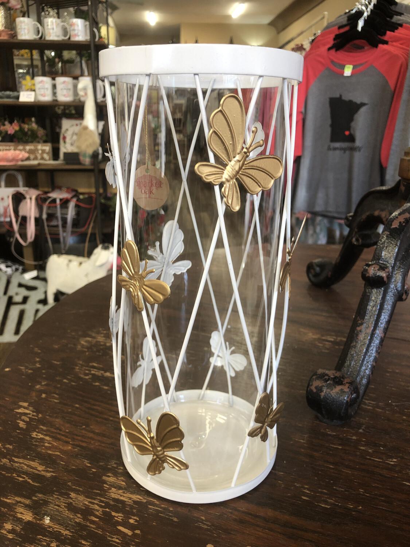 Butterfly LG Hurricane Vase