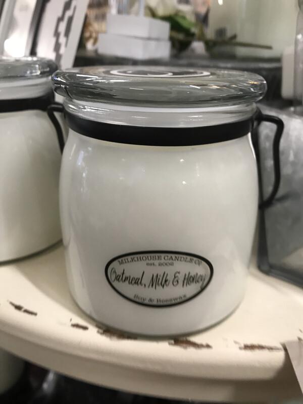 Oatmeal Milk & Honey 16oz Butter Jar