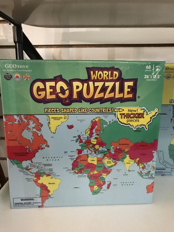 GEO Puzzle WORLD