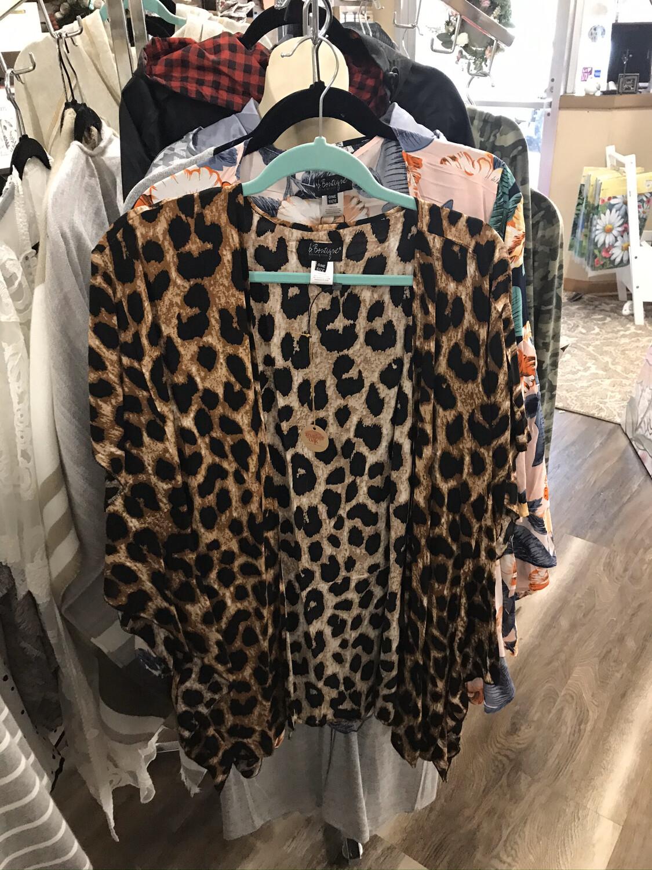 Leopard Shawl