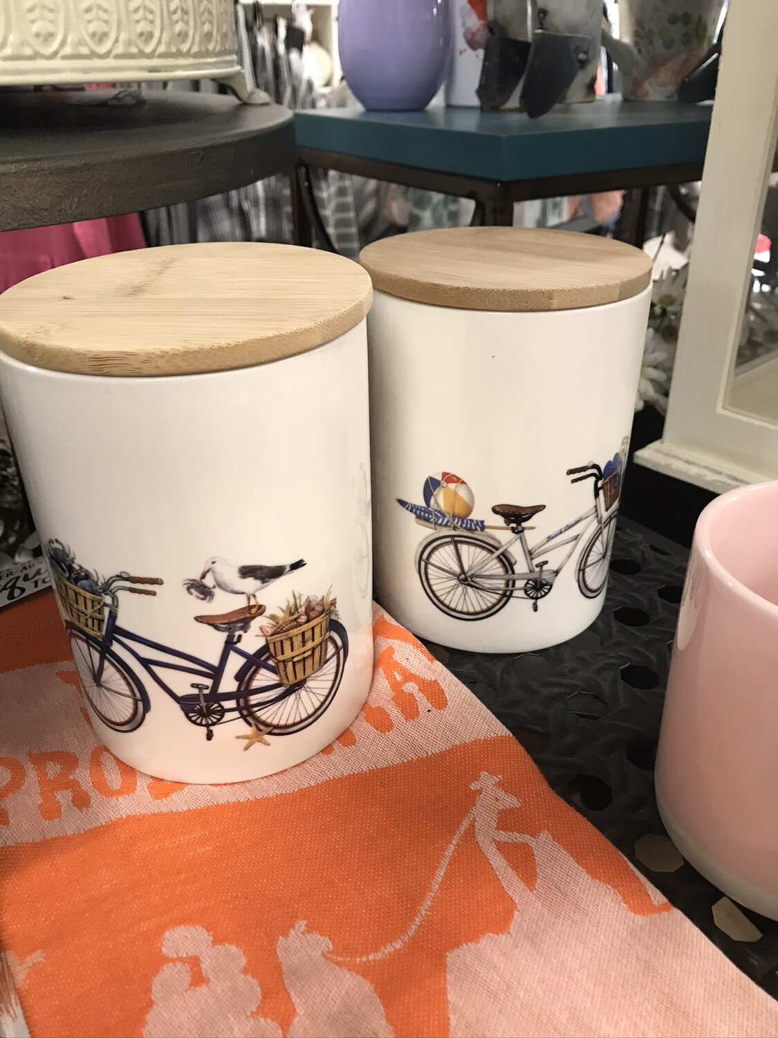 Bicycle Canister