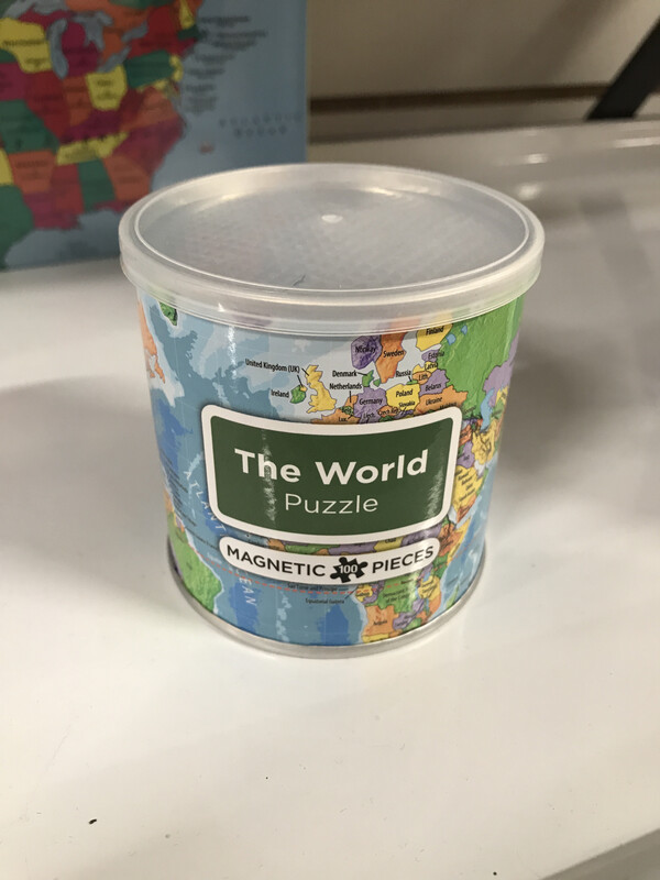 Magnetic Puzzle WORLD