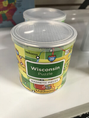 Magnetic Puzzle WISCONSIN