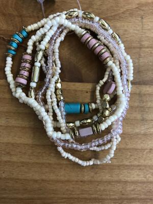 Seed Bead Bracelet Set