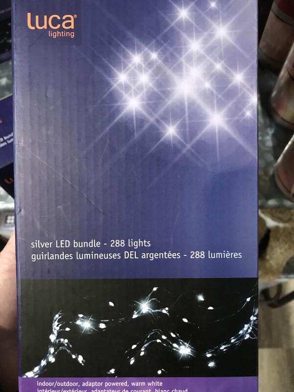 Outdoor LED Bundle Silver 288 Lites