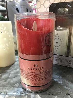 Apple Ginger Flameless LED Candle