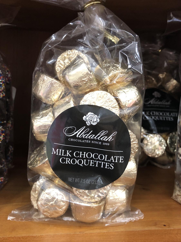 Milk Chocolate Croquettes
