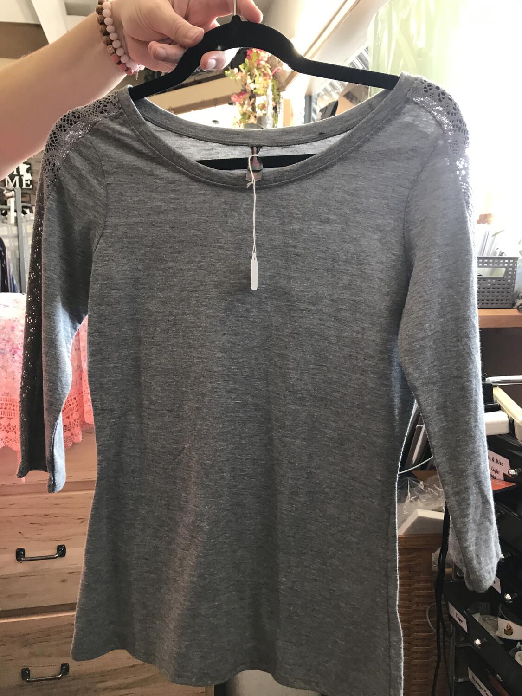 Triblend Grey T-shirt XS