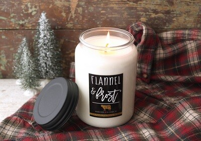 Flannel & Frost 26oz Apothecary Jar