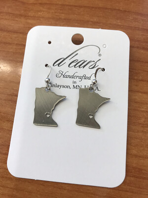 MN State Earrings