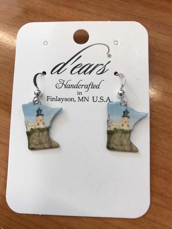 Split Rock Earrings