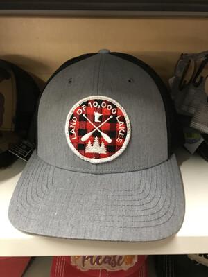 Diamond Point Snapback Hat