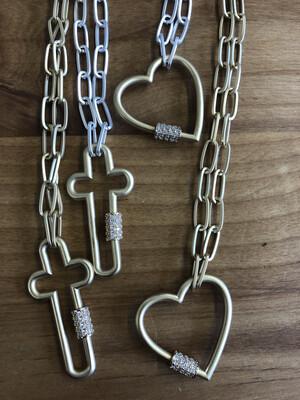Caribiner Necklace