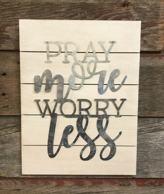 Pray More Pallet