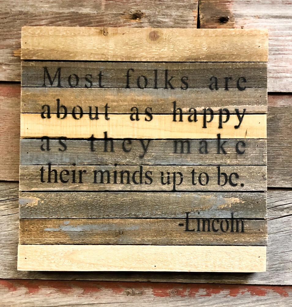 Most Folks Happy